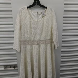 ⬇️ price drop American Rag XXL ivory dress